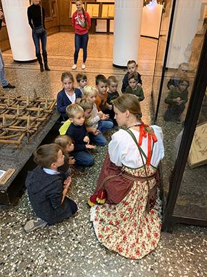 экскурсия в музей для детей