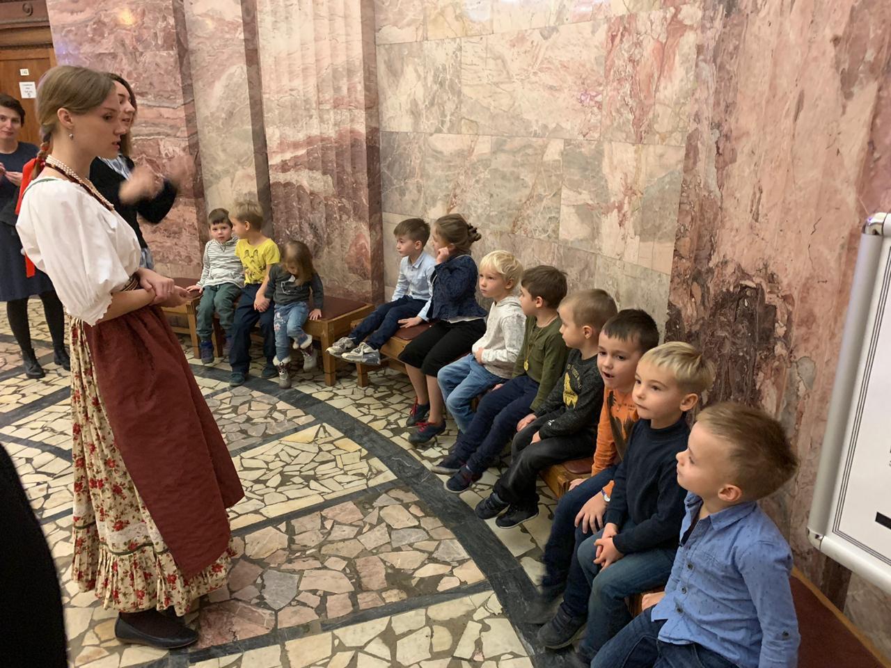 экскурсии для детей в музеи